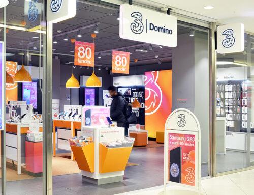 3 butiken Domino